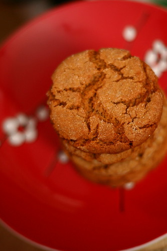 Sparkled Ginger Cookies