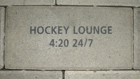 hockey lounge brick