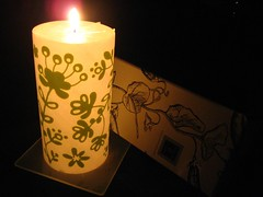 Pillar Candle from Black & Light co.