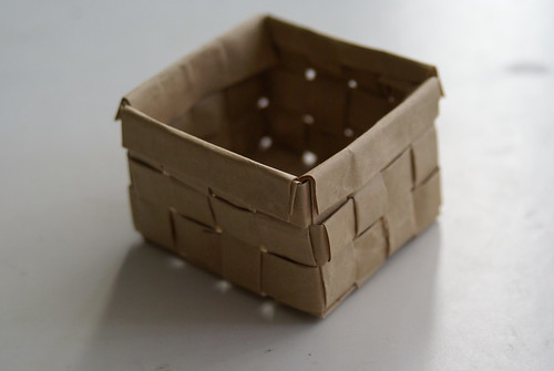 Weaved Mini Basket