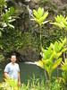 Waikani Falls: Chris