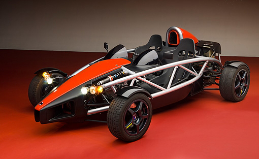 Picture of Wrightspeed SR-71 electric car