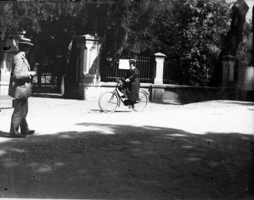 Mme Bert, Henri, Luchon, laiterie, 5 septembre 1895. Série A. Hanau n° 14