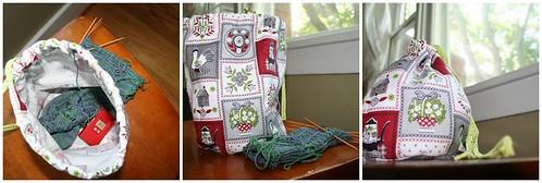 Sock Bag Mosaic