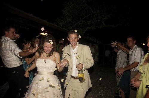 April & Ed Wedding Day