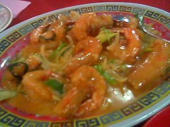Ruby's butter scotch prawns again