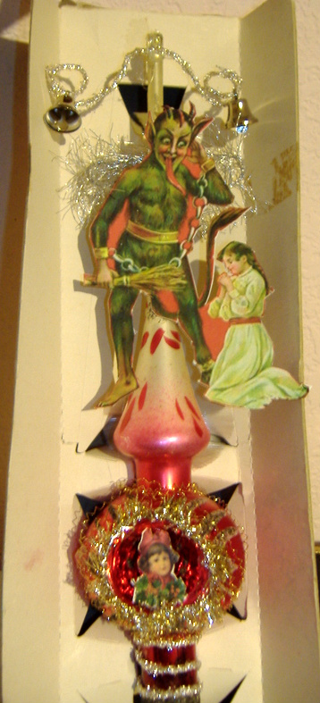 Krampus Tree Topper, 8/13/08