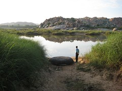 View from Hampi side