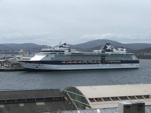 View from our window at Lenna of Hobart
