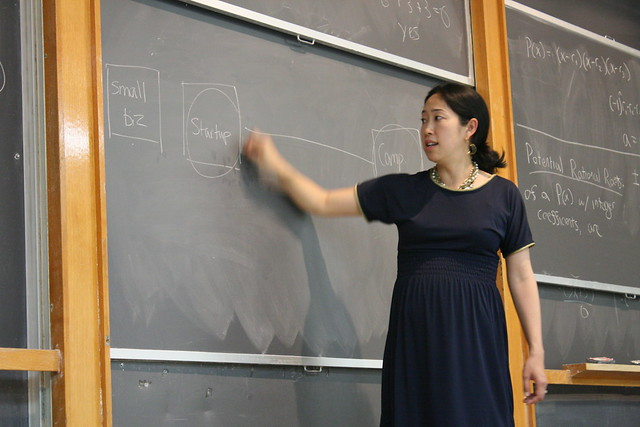 Ann Miura-Ko explains the growth of a startup