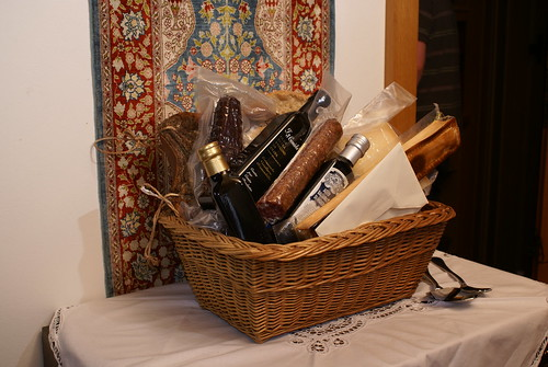 the coolest gift basket ever.