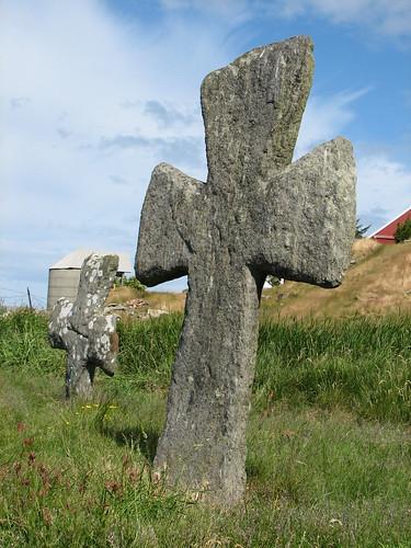 The crosses of Tjora