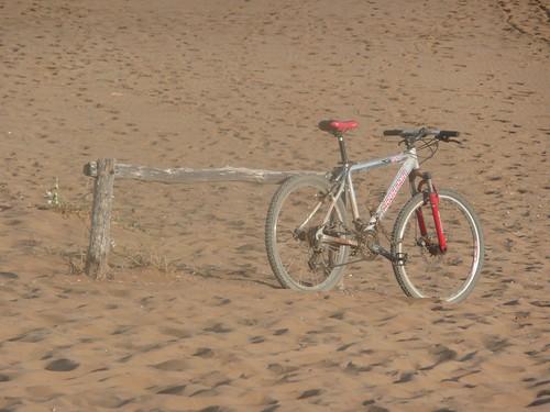 Una bicicleta aventurera