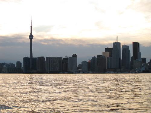 Evening Toronto Skyline