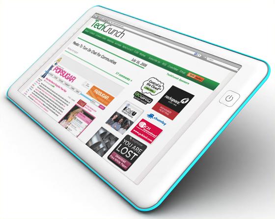 Esta es la Web Tablet que soñó Michael Arrington