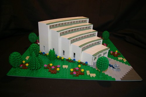 LEGO microscale auditorium