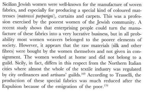 Mattress in Sicily 1492