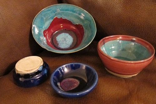 Ceramic Bowls by Paul Dickinson Goodman