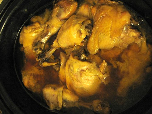 Chicken Adobo in the Crock Pot