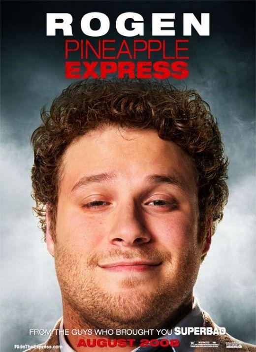 Pineapple Express (2008) Rogen poster