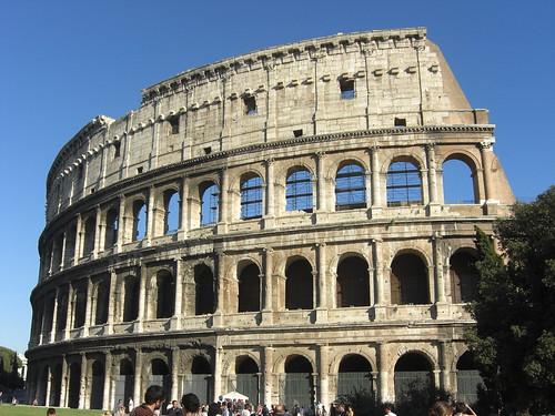 the coloseum, rome