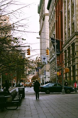 紐約x秋天