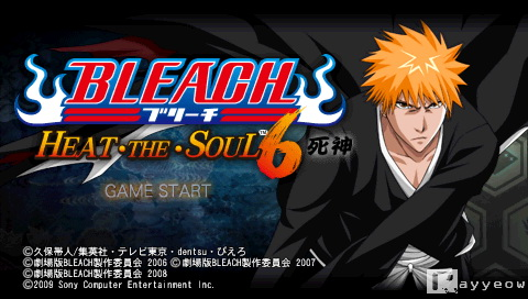 Game Review Bleach Heat The Soul 6 Psp Rayyeow S Blog