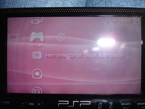 As� es como se ve la grieta en la PSP