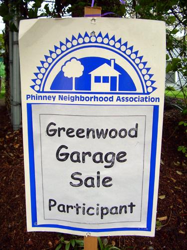 Greenwood Garage Sale Participant