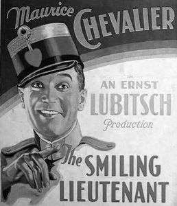 The Smiling Lieutenant - 1931 - poster