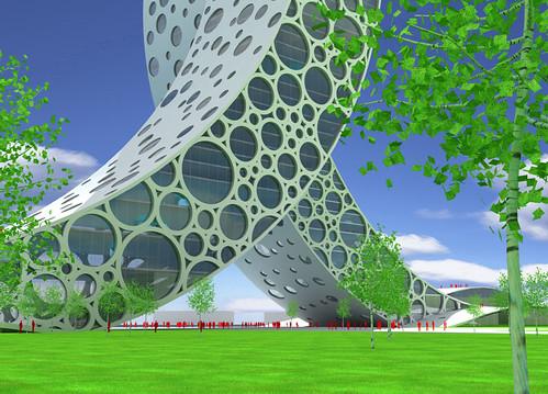 上海的 [人] �型建築-3