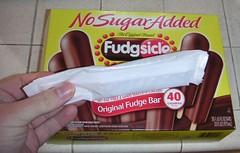 Fudgsicle wrapper