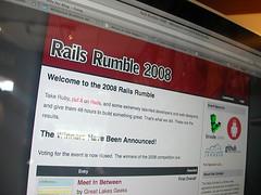 Rails Rumble! (by mrjohnherman)