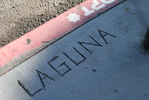 Laguna. Not beach.