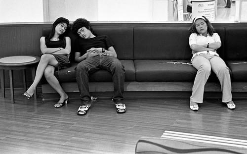 Sleepers at Mall - Bangkok by Sailing
