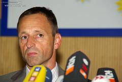 Pressekonferenz zur Schießerei 13.08.08