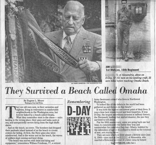 1995ish - James Bernard L. - Washington Post front page - article - reworked