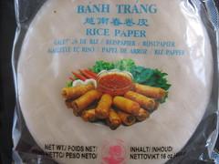 Bahn Trang rice paper