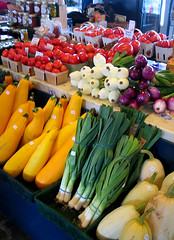 Multi-colored Produce