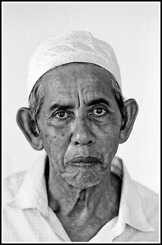 Man at Ubudiah Mosque