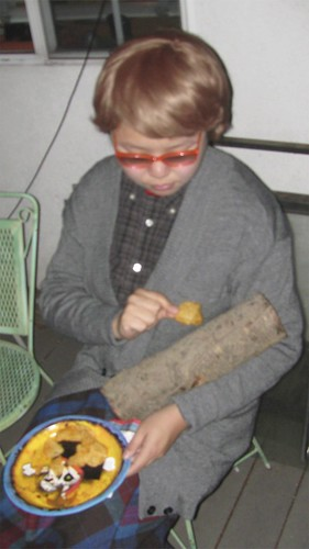 Sizzle as Log Lady