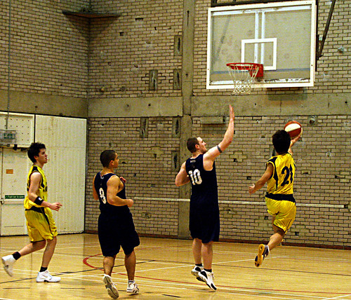 Men's Basketball vs. Newcastle , Alexandru Hristea, 26 (5)