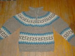 Homespun Equadorian Sweater