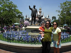 Jack, me and Kris at Disney