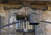 Detalle de la Fachada de la Escuela de Arte de Glasgow. 1897-99.