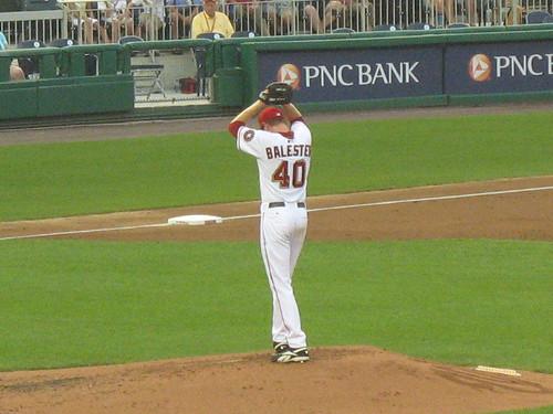 Collin Ballester at Nationals Ballpark