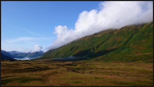 Turnagain Pass fall landscape.
