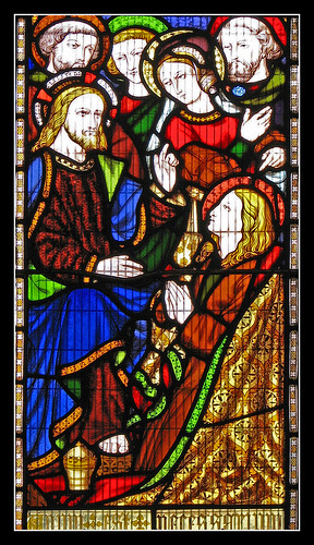 Christ in Bethany (Pugin), by Br. Lawrence Lew, OP