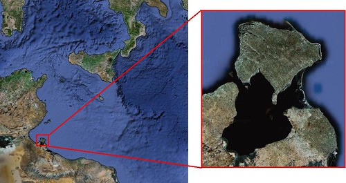 Isla de los Gelves - Isla de los lotófagos