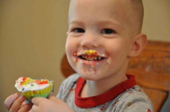 Cupcake Mustache
